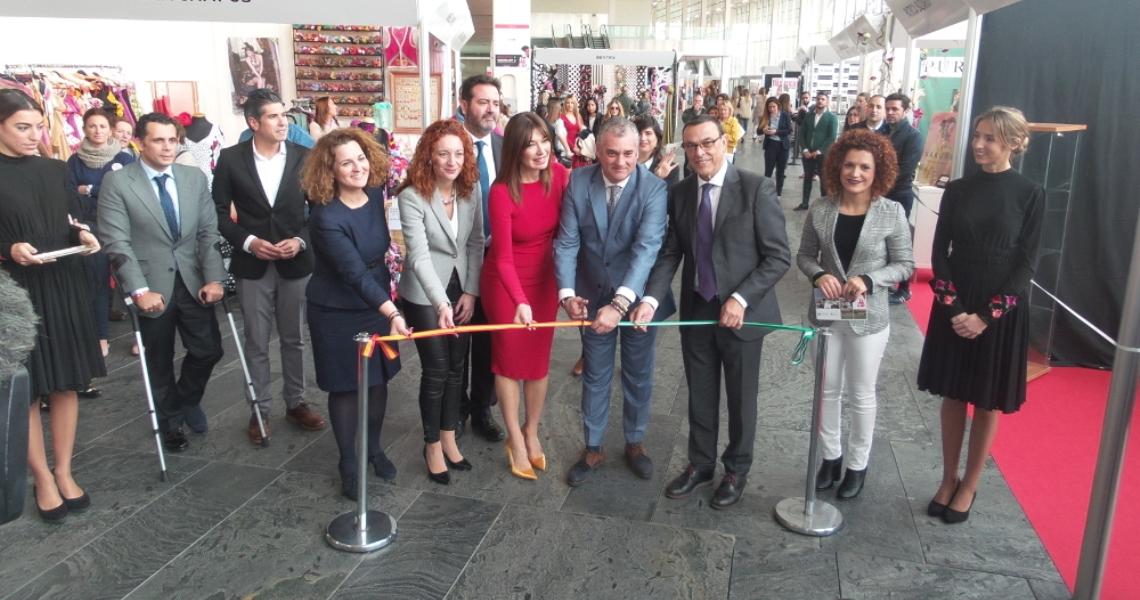 Inaugurado el Salón Internacional de Moda Flamenca, SIMOF 2018, con protagonismo de la provincia de Huelva