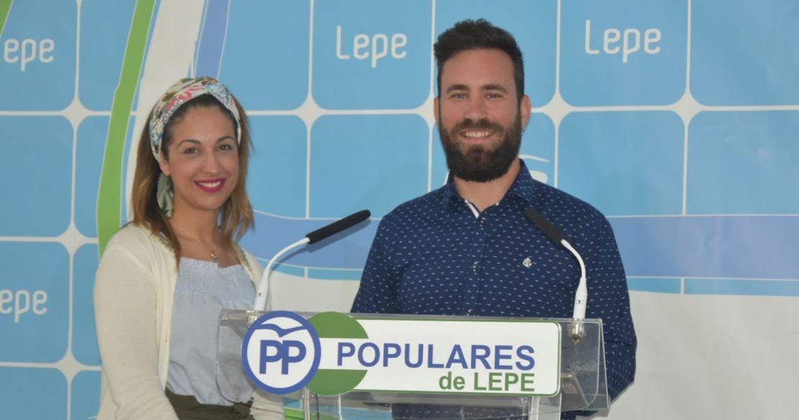 Los jóvenes del Partido Popular presentan en Lepe la nueva Oficina de Atención a la Juventud