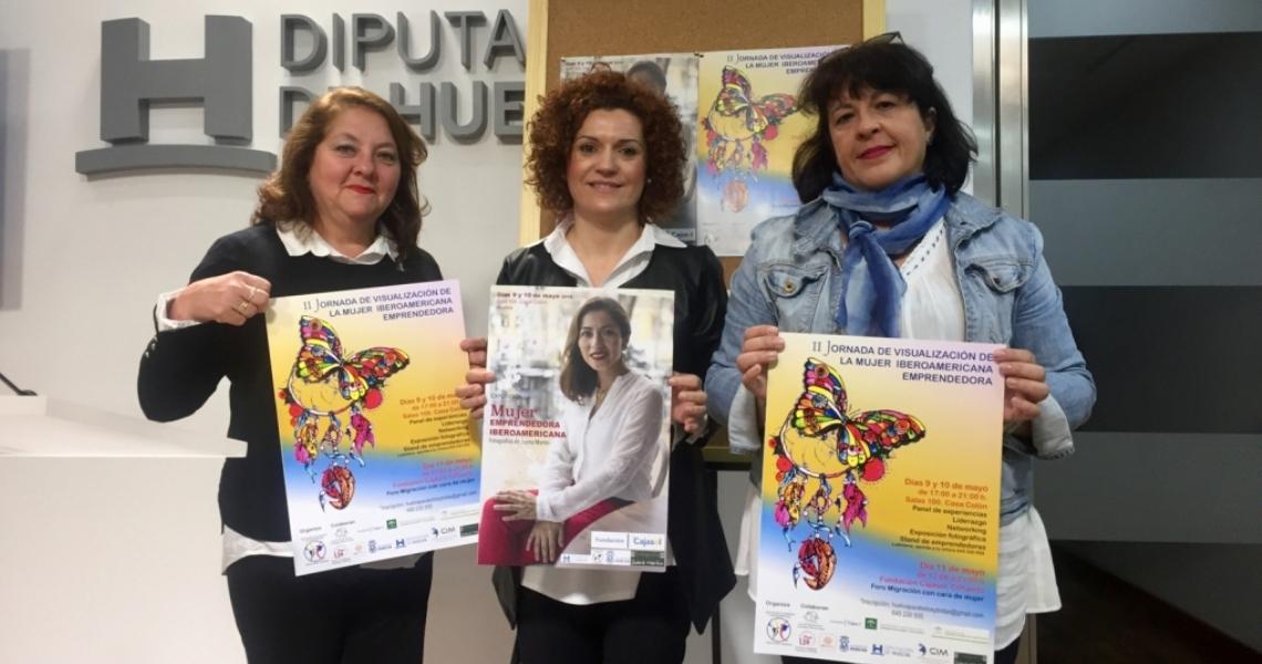 Un panel de 27 mujeres iberoamericanas centra unas jornadas sobre sus experiencias emprendedoras