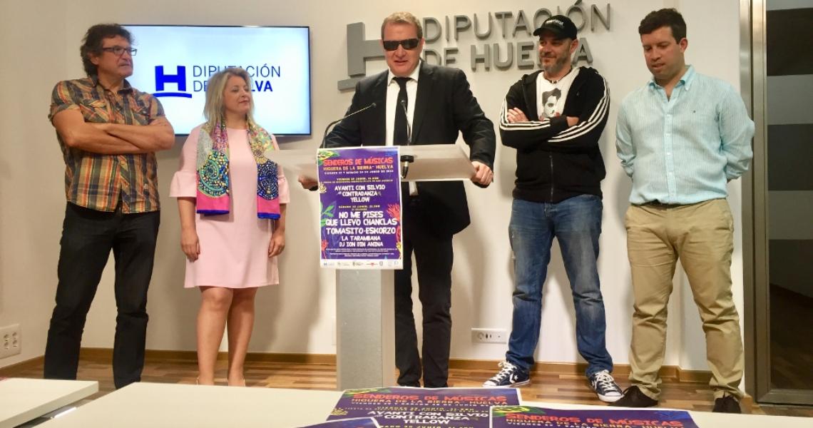 Los Chanclas, Tomasito, La Tarambana y Avanti con Silvio actuarán en Senderos de Música de Higuera de la Sierra