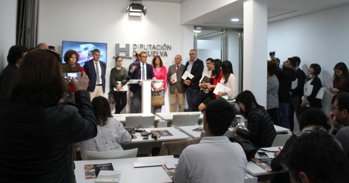 Los productos de calidad de la provincia de Huelva se exhiben en el Salón de Gourmets de Madrid