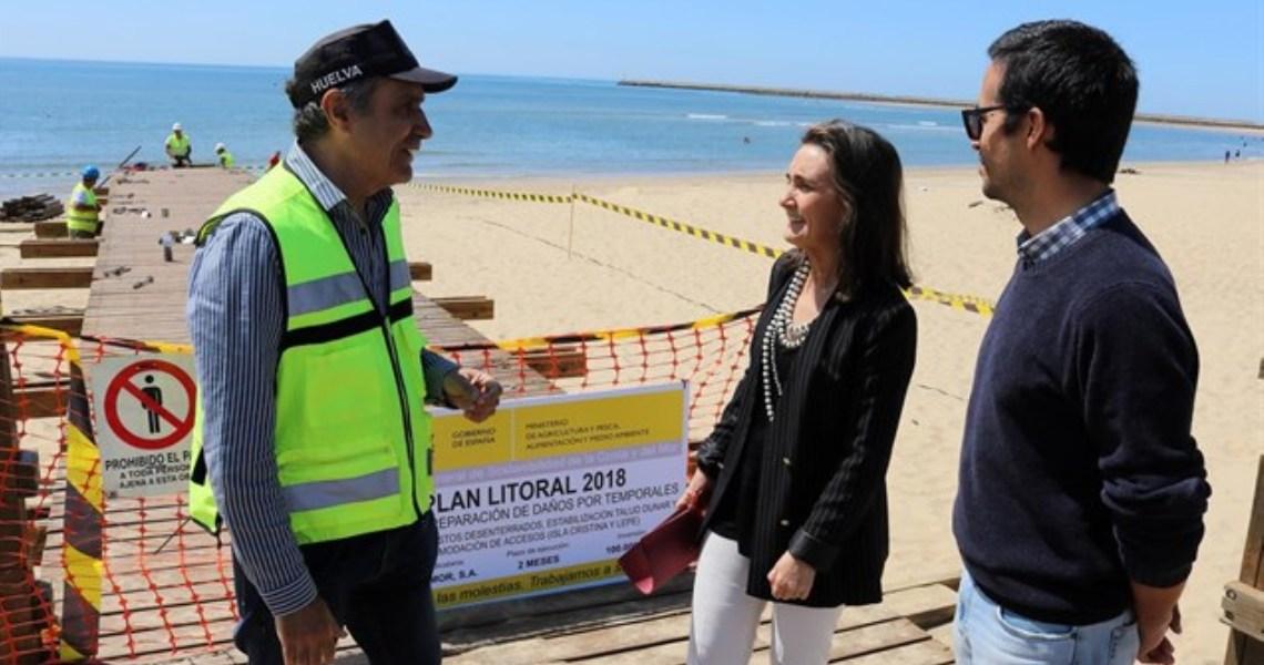 """Grávalos apela a """"la máxima colaboración"""" para realizar los trabajos en las playas con """"mayor diligencia"""""""