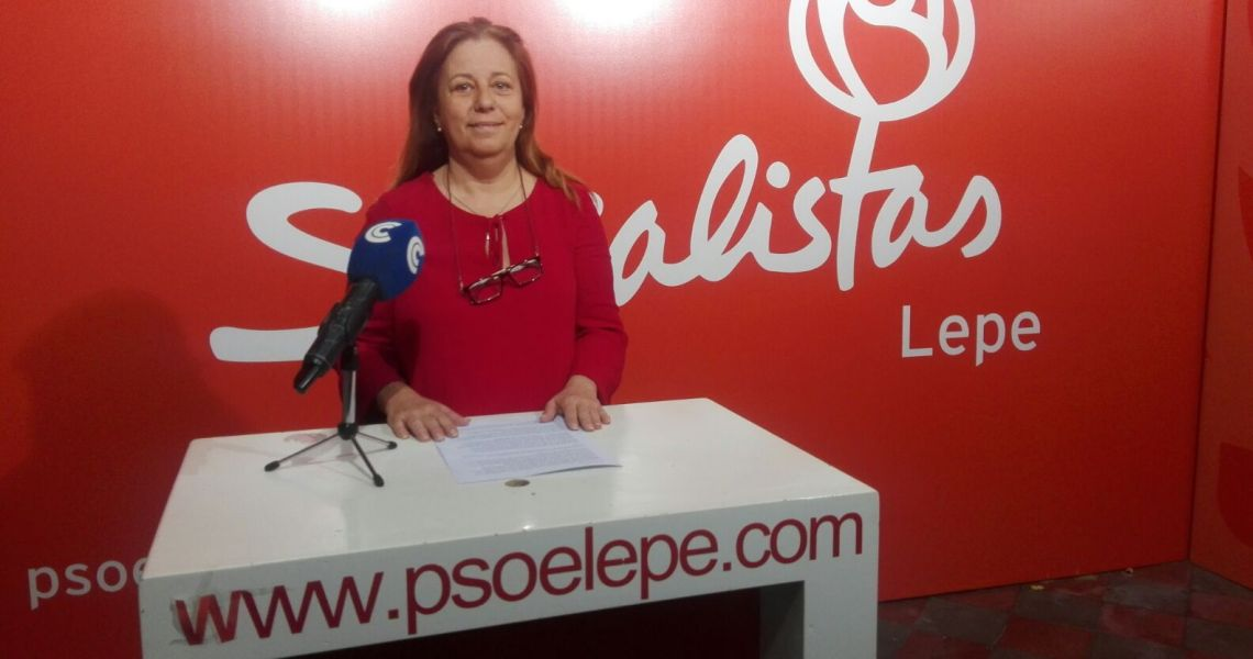"""Rocío Valero: """"Los presupuestos de 2018 no se ajustan a las necesidades más urgentes de Lepe"""""""