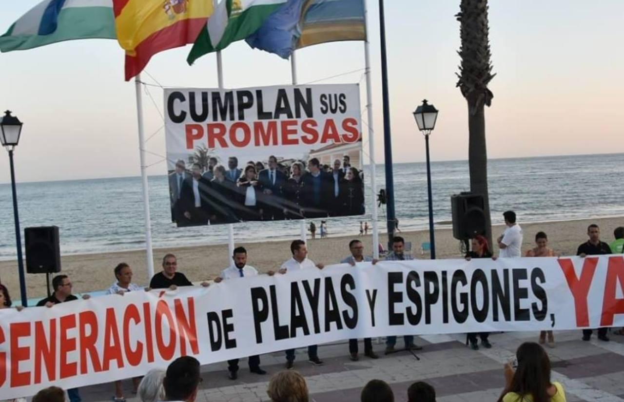 """""""Salvemos La Antilla"""" convoca una nueva manifestación por la playa lepera"""