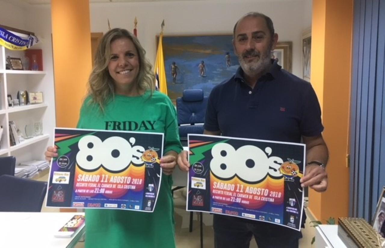 El Isla Cristina FC organiza un año más su Fiesta dedicada a los 80