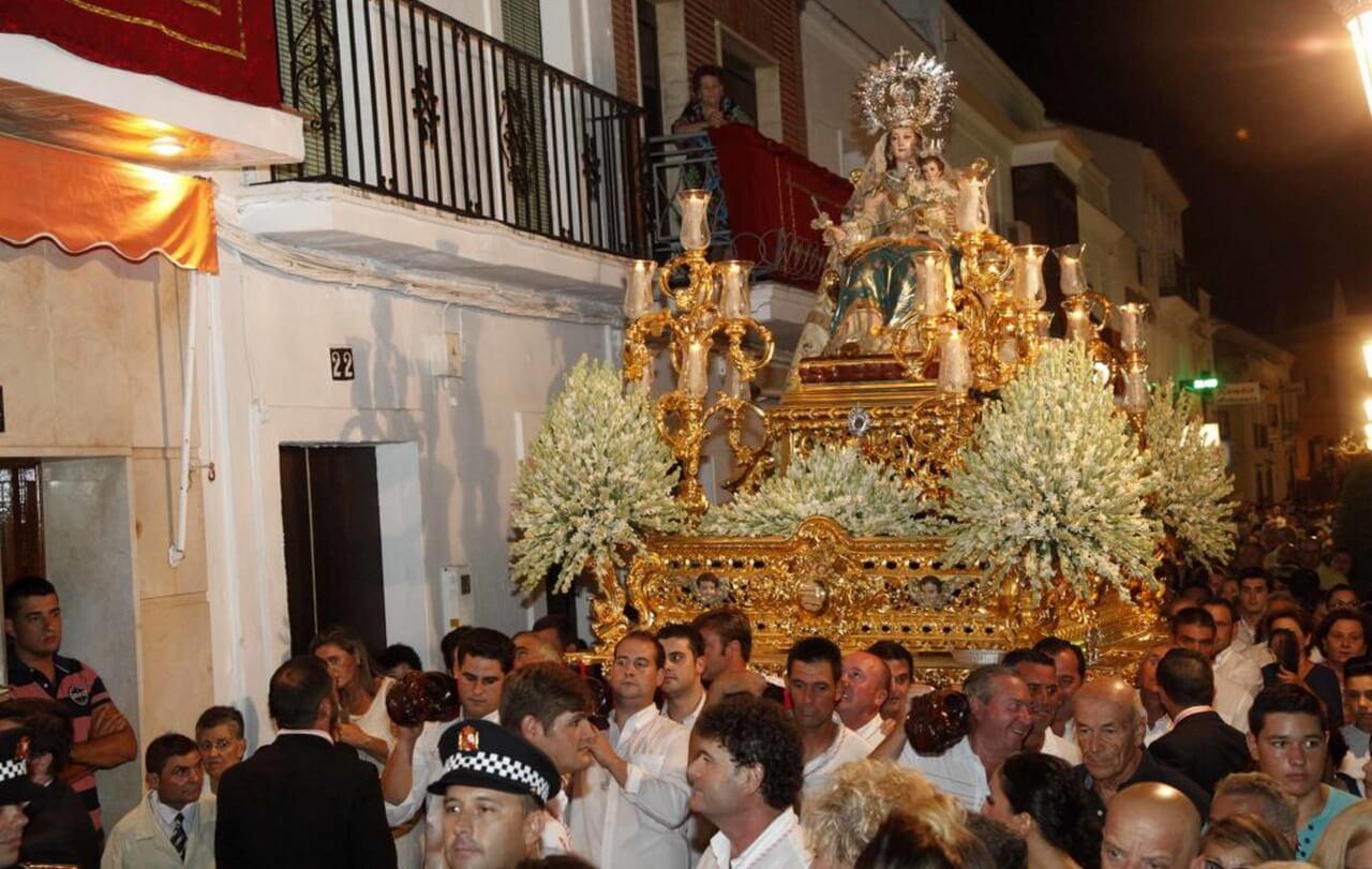 Cartaya se prepara para vivir la procesión de Consolación