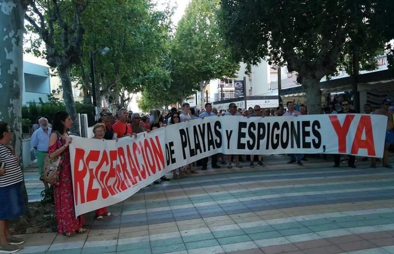 Ayuntamiento y Plataforma se reunen mañana con la Dirección General de Costas