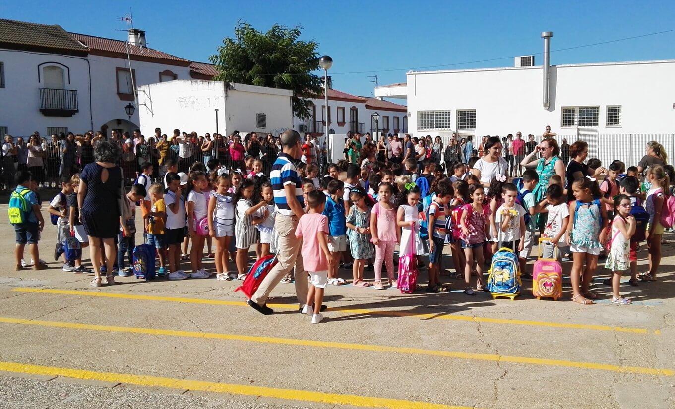 Vuelta al colegio en Lepe