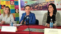 La alcaldesa, junto a la Delegada de Bienestar Social y Técnica de Infancia presentan la Semana de la Infancia