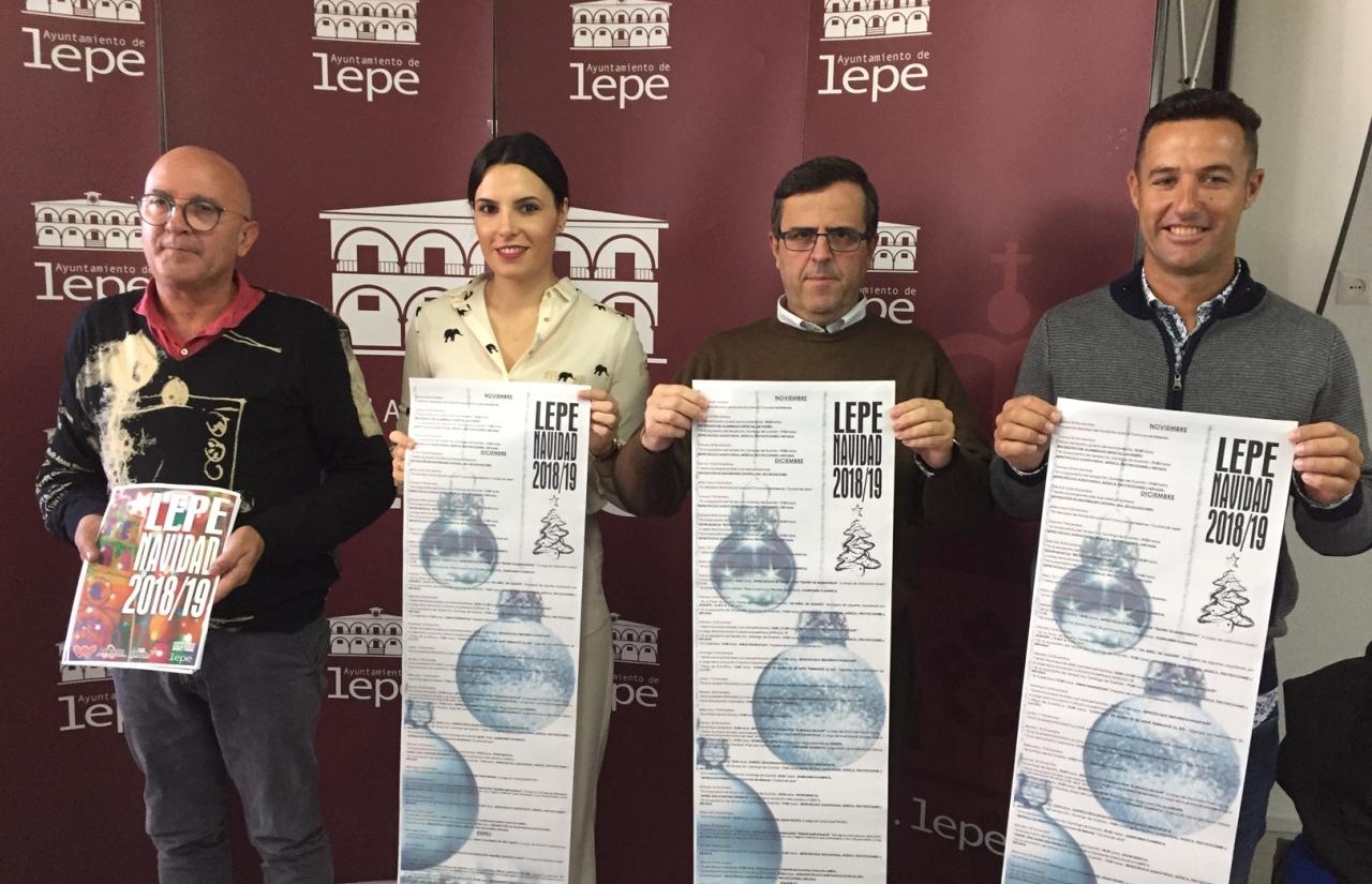 El Ayuntamiento de Lepe presenta la Programación Navideña 2018-2019
