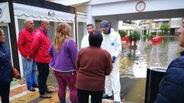 alcalde inundaciones