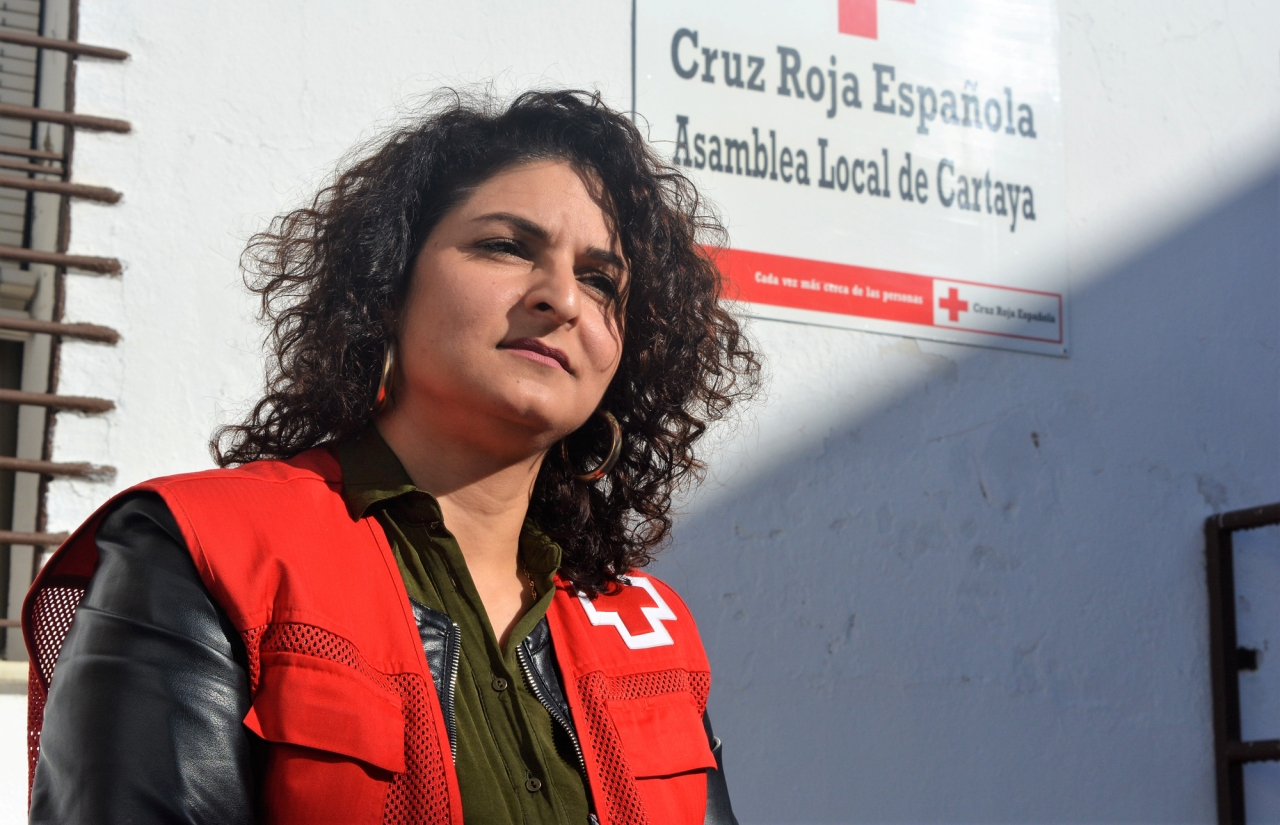 La cartayera Lama Tomeh, Premio Estatal de Voluntariado Social