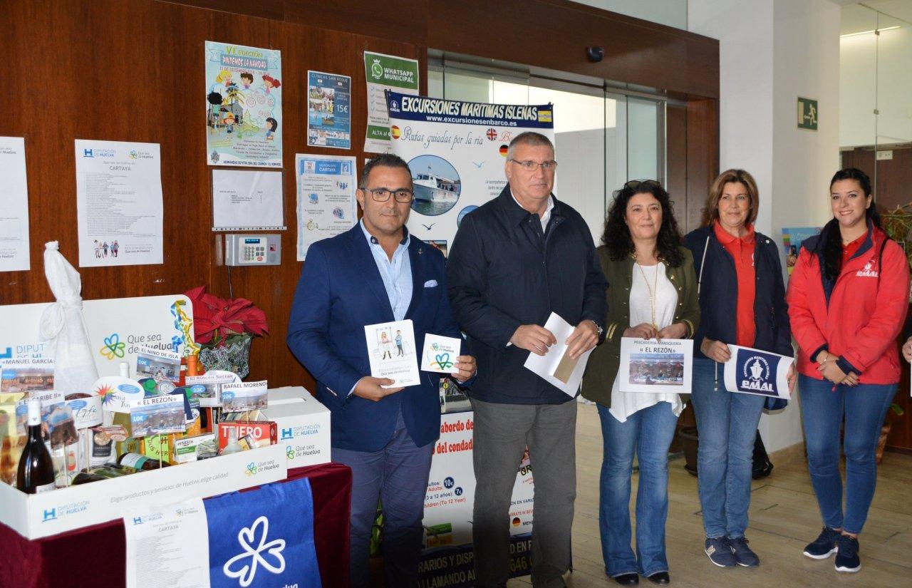 La campaña Que Sea de Huelva recala en Cartaya