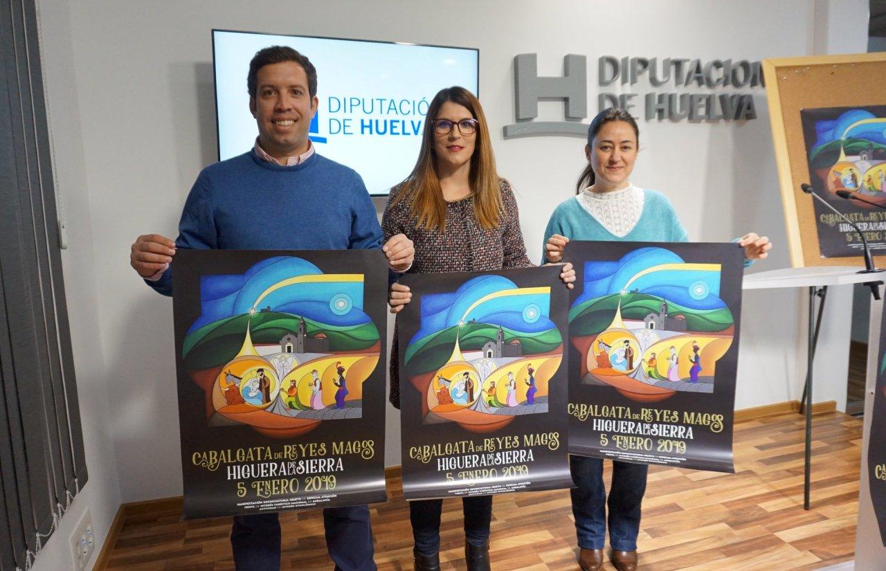 Higuera de la Sierra presenta su centenaria Cabalgata de Reyes