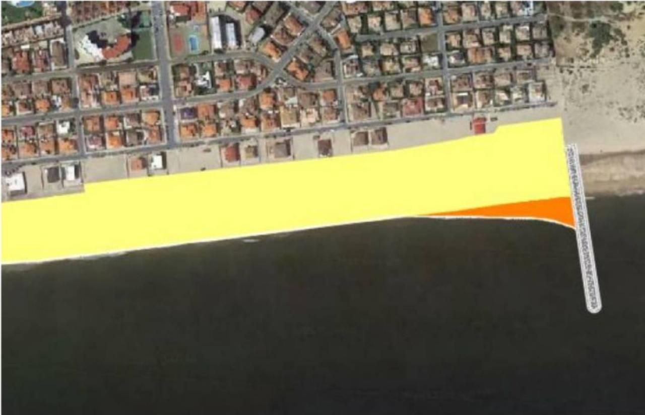 Costas contempla construir un espigón para frenar la erosión de las playas de La Antilla e Islantilla