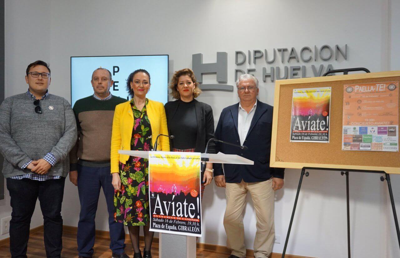 """Festival paellero """"Paella-Te"""" a beneficio de la Hdad. de San Isidro Labrador de Gibraleón"""