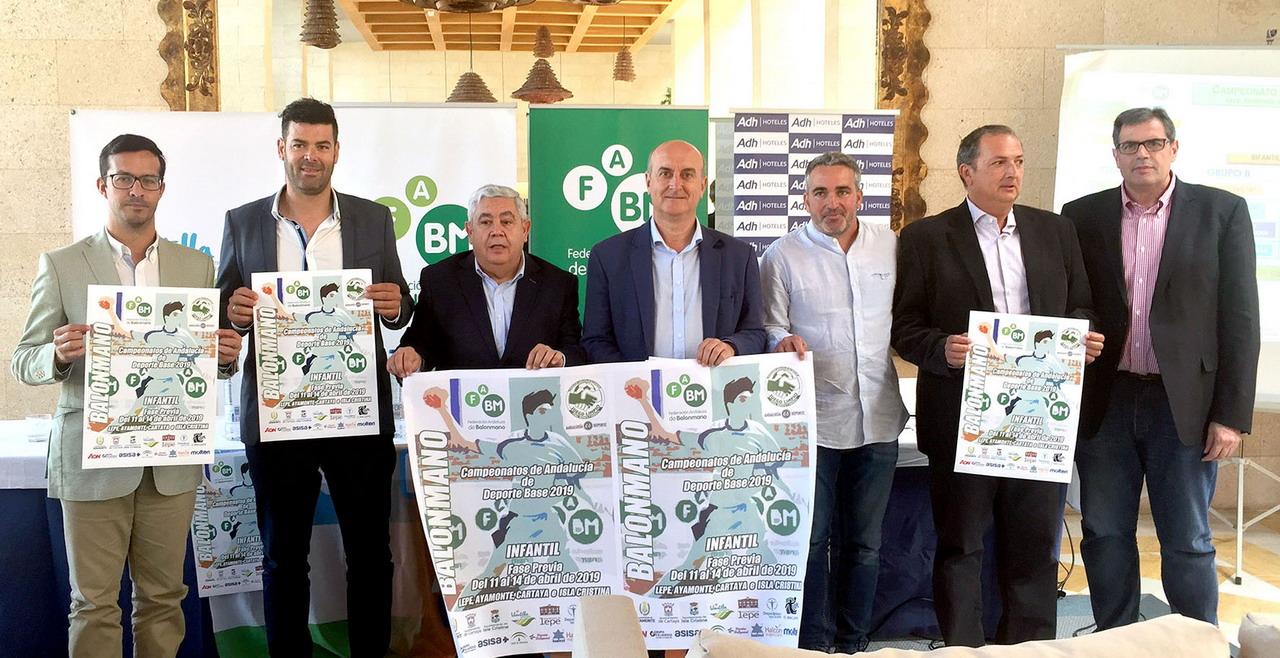 Presentado el Campeonato de Andalucía de Balonmano en categorías Infantil Masculino y Femenino