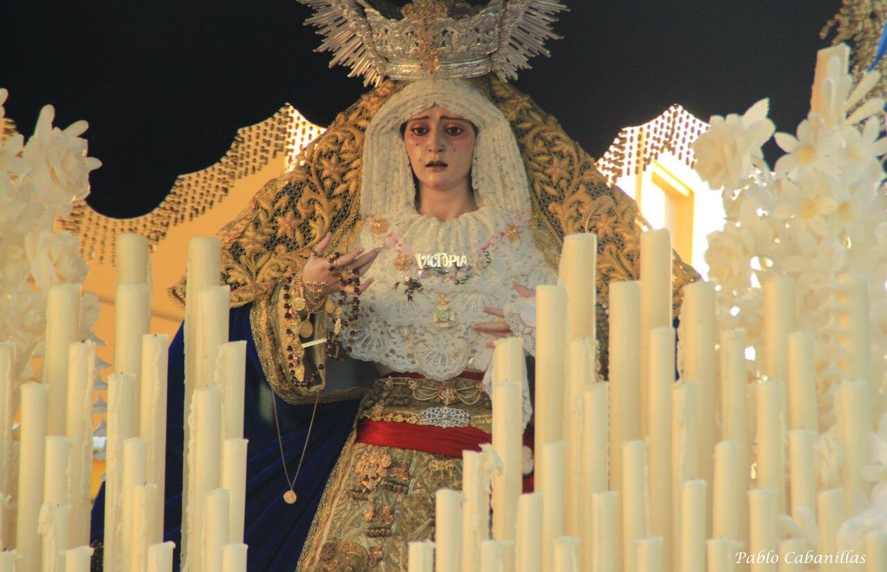 La Victoria se estrena en el Lunes Santo lepero