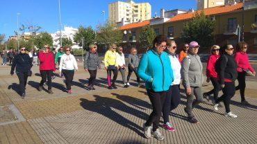 Partipantes en la Ruta de Senderismo por el Día Mundial de la Salud
