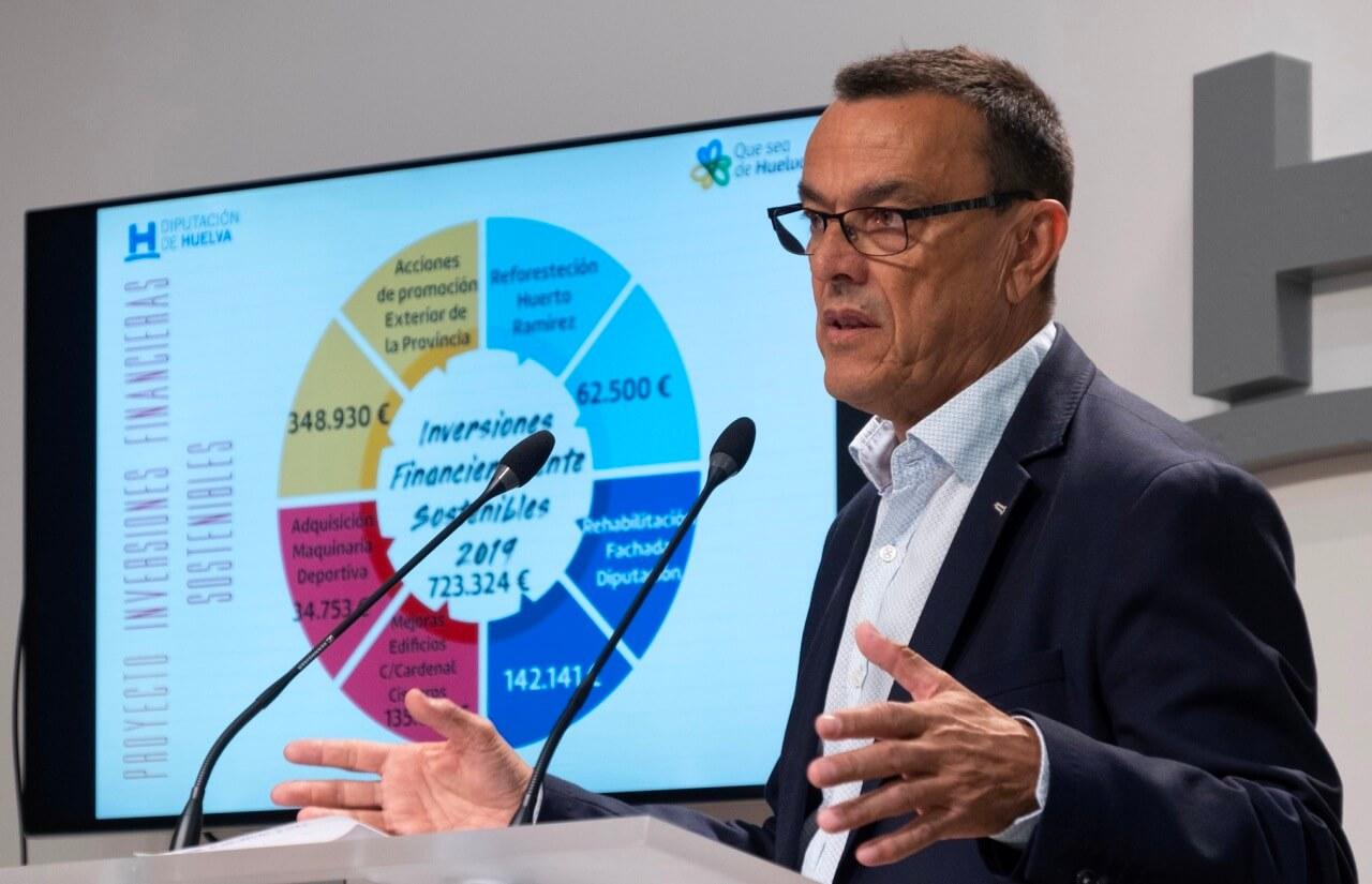 Caraballo subraya la excelente gestión financiera de Diputación al reducir la deuda en 83,4 millones desde 2012