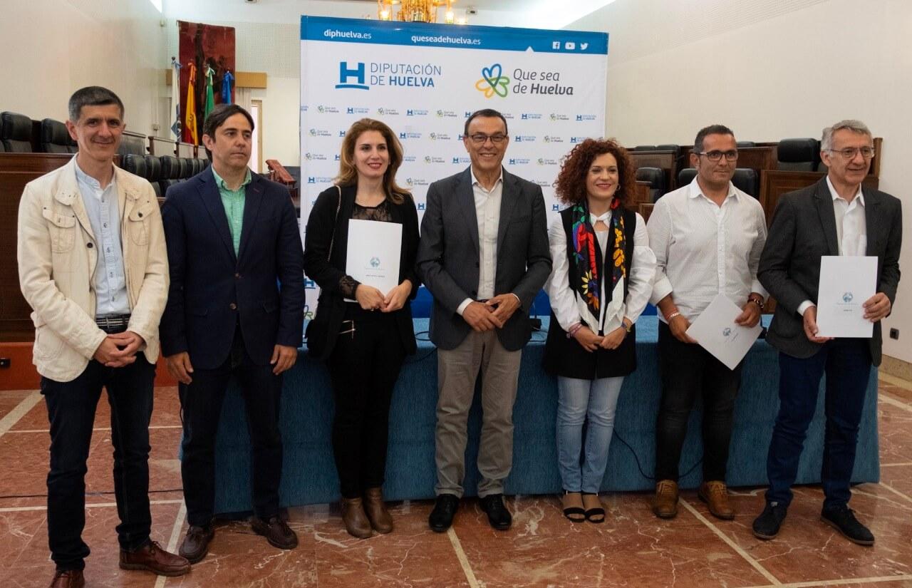 Diputación y GDR firman el convenio para la puesta en marcha de la quinta edición de las becas HEBE Primera oportunidad