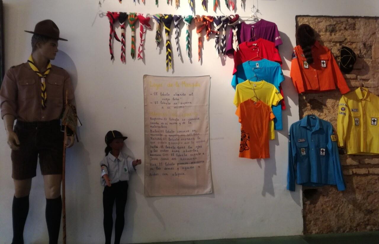 La ermita de San Cristóbal acoge la exposición «40 Años de Escultismo en Lepe 1979-2019»