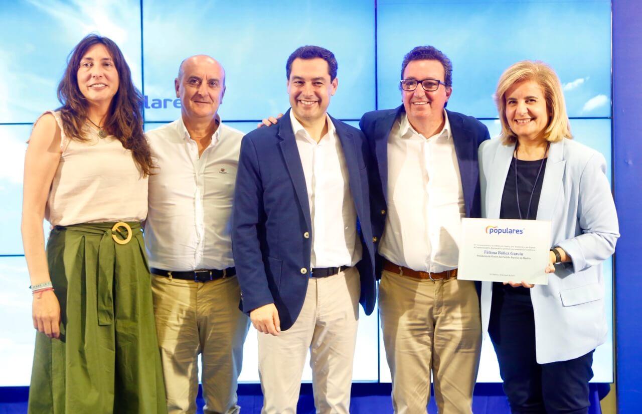 """Moreno: """"El Gobierno del Cambio lo es también del diálogo, desde el que trabajamos con humildad por Andalucía"""""""