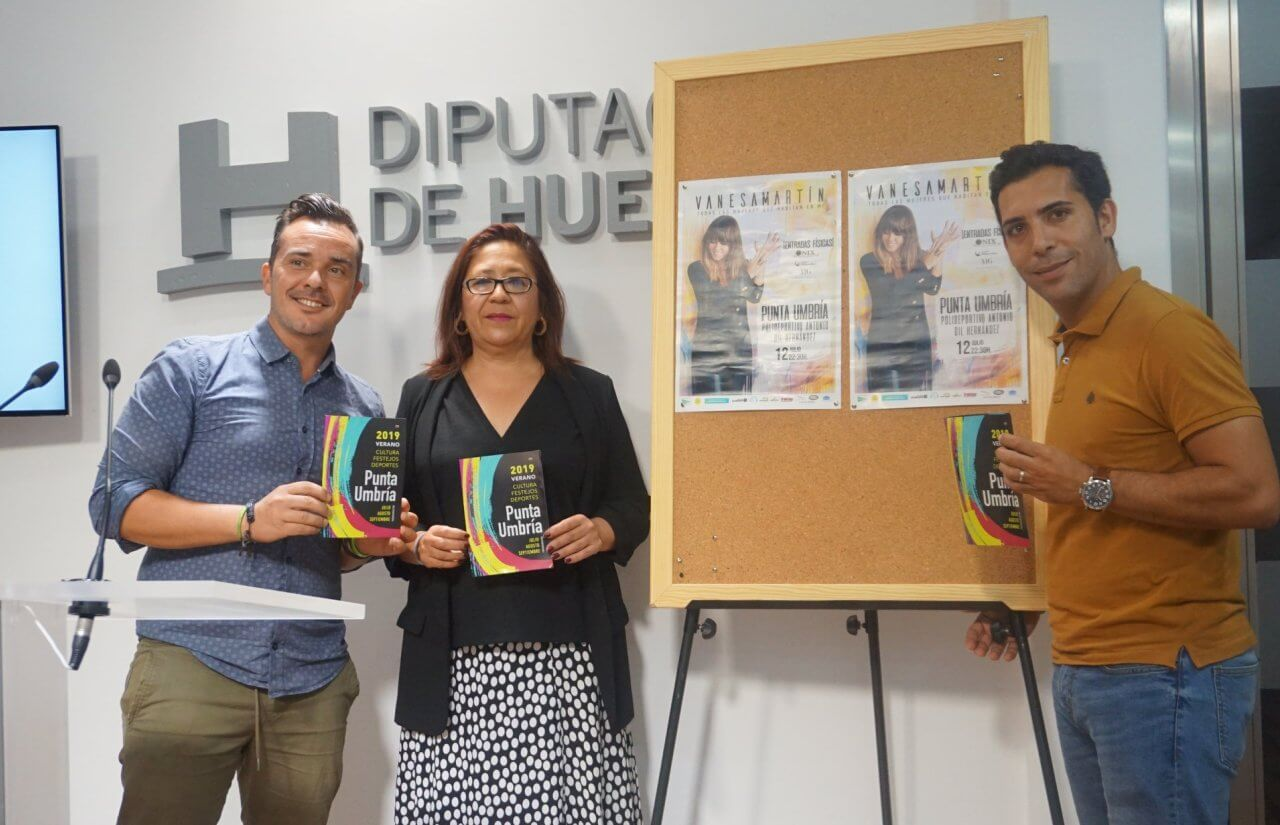 Punta Umbría presenta su programa de Cultura, Festejos y Deportes de este verano