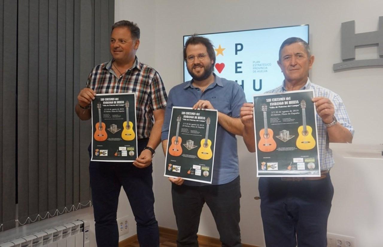 XIII Certamen Regional del Fandango de Huelva «Villa de Paterna del Campo»