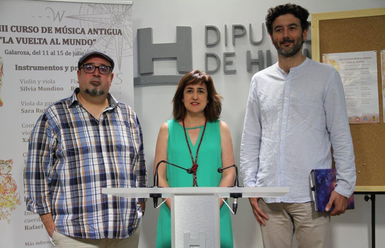 VIII Curso de Música Antigua «La Vuelta al Mundo» de Galaroza