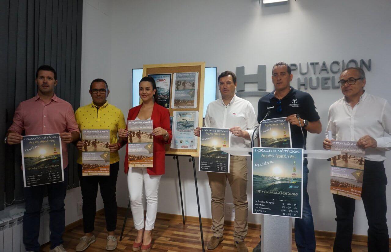 I Circuito de Natación en Aguas Abiertas en Huelva