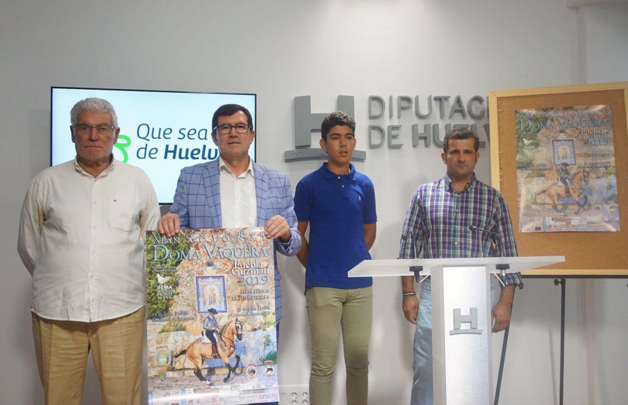 XIX Concurso Nacional de Doma Vaquera de Puebla de Guzmán