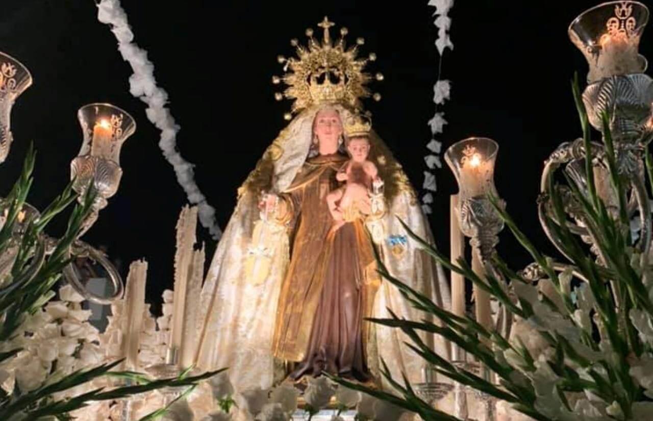 Broche de oro a las Fiestas de El Carmen en La Pendola