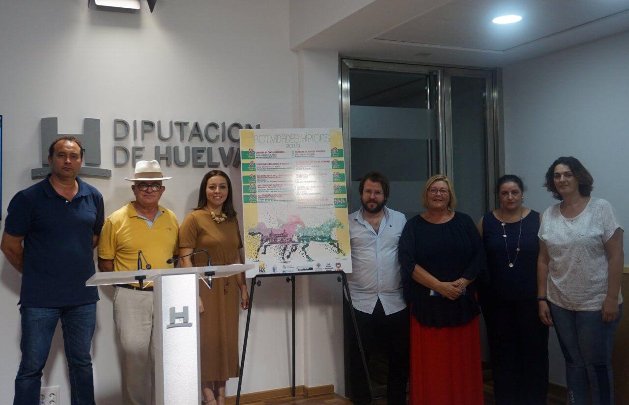 Programa de actividades hípicas 2019 en Almonte, El Rocío y Matalascañas