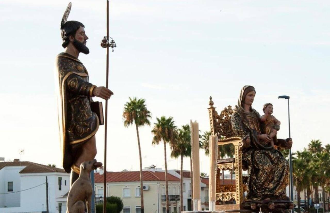 Las Hermandades de La Bella y San Roque presentan los carteles anunciadores de las Fiestas Patronales de Lepe