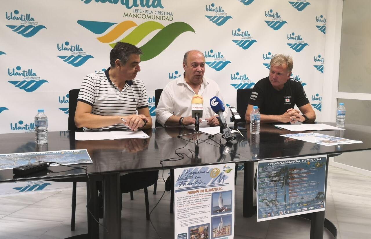 Islantilla presenta la quinta edición de su Programa Naútico en Familia y pone en valor su programación deportiva de verano