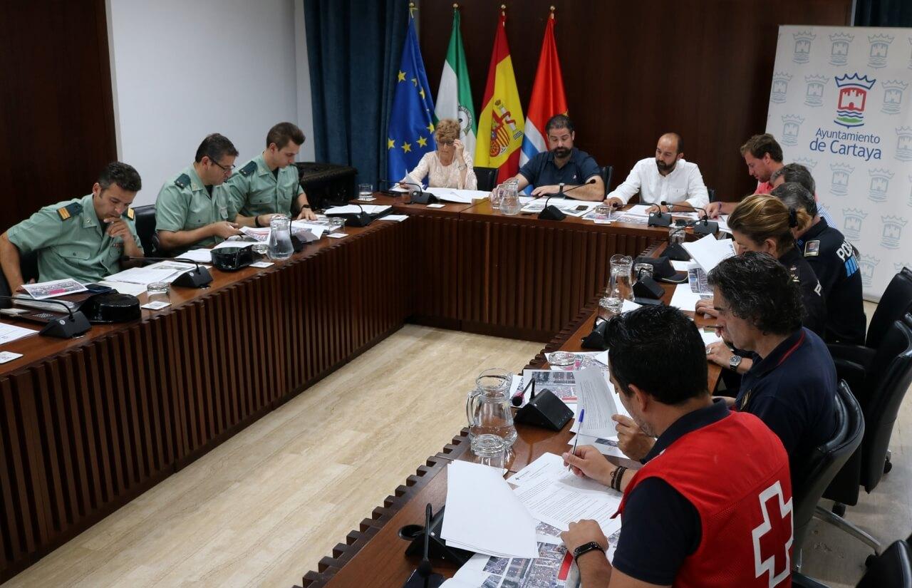 Ayuntamiento y Subdelegación del Gobierno ultiman el dispositivo de seguridad para las fiestas de El Rompido
