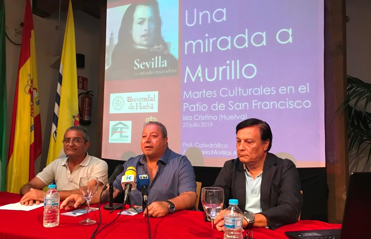 Magistral disertación del Catedrático Morillas Alcázar sobre Murillo