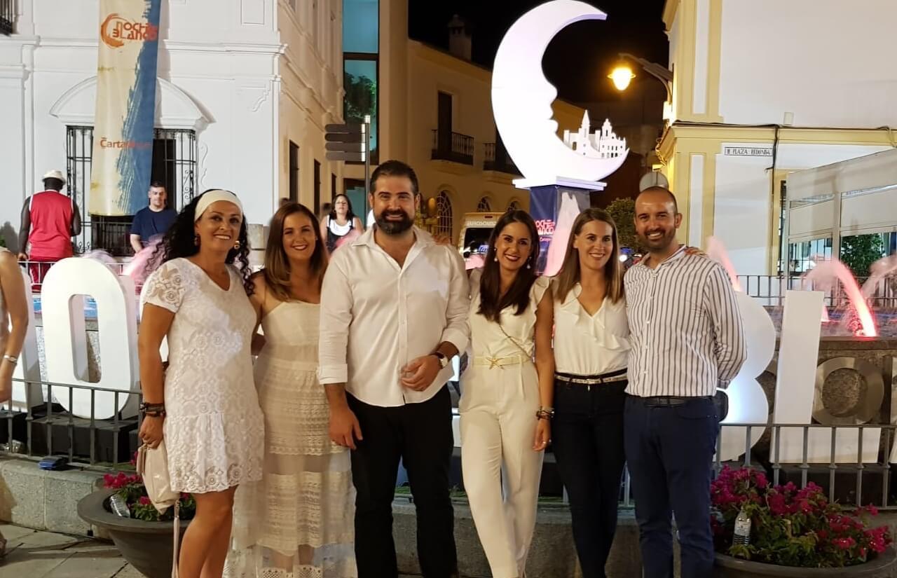 Éxito organizativo y de público de la VI Noche en Blanco de Cartaya