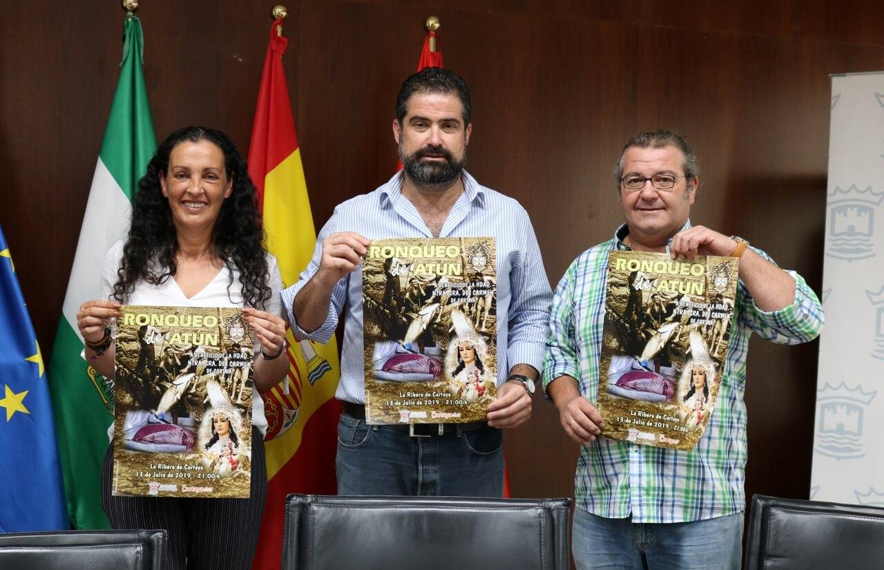 Jornada para disfrutar del ronqueo del atún en La Ribera, a beneficio de la Hermandad del Carmen de Cartaya