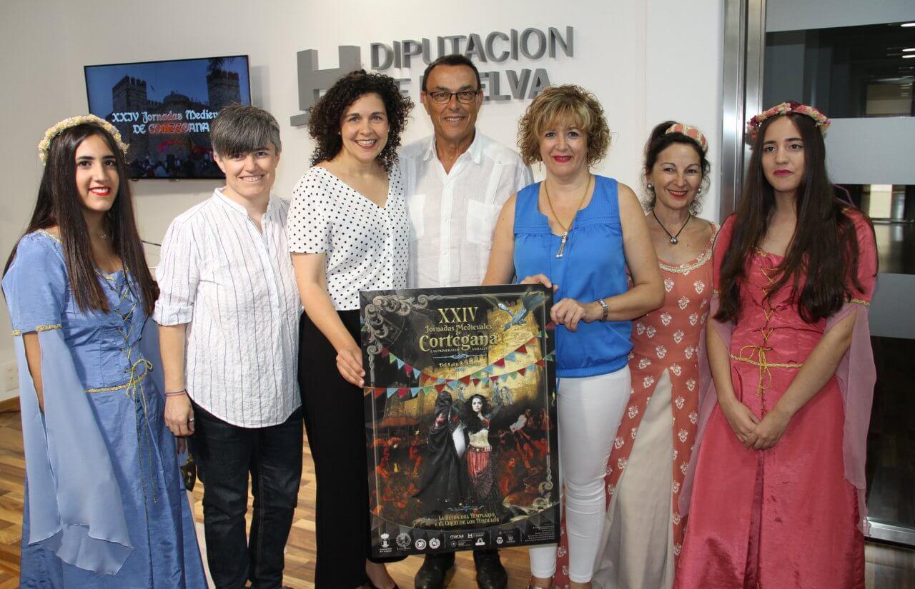El Ayuntamiento de Cortegana presenta las XXIV Jornadas Medievales, que se celebrarán del 8 al 11 de agosto en el municipio serrano