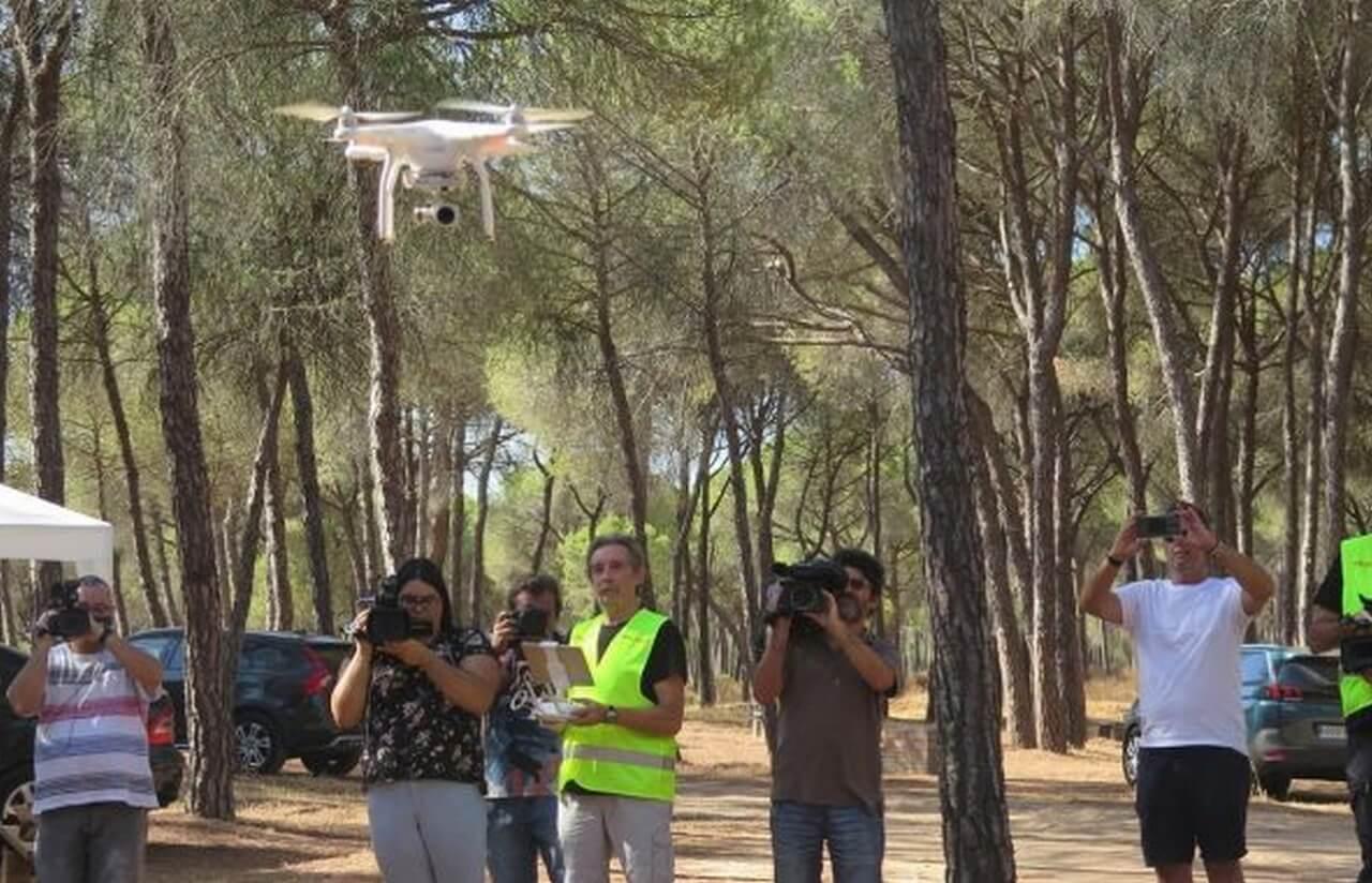 Cartaya inicia el programa de vigilancia de incendios con drones