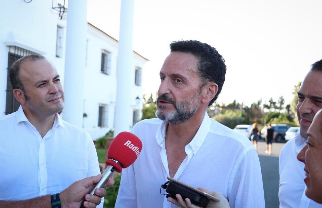 Edmundo Bal mantiene un encuentro en Lepe con militantes y simpatizantes