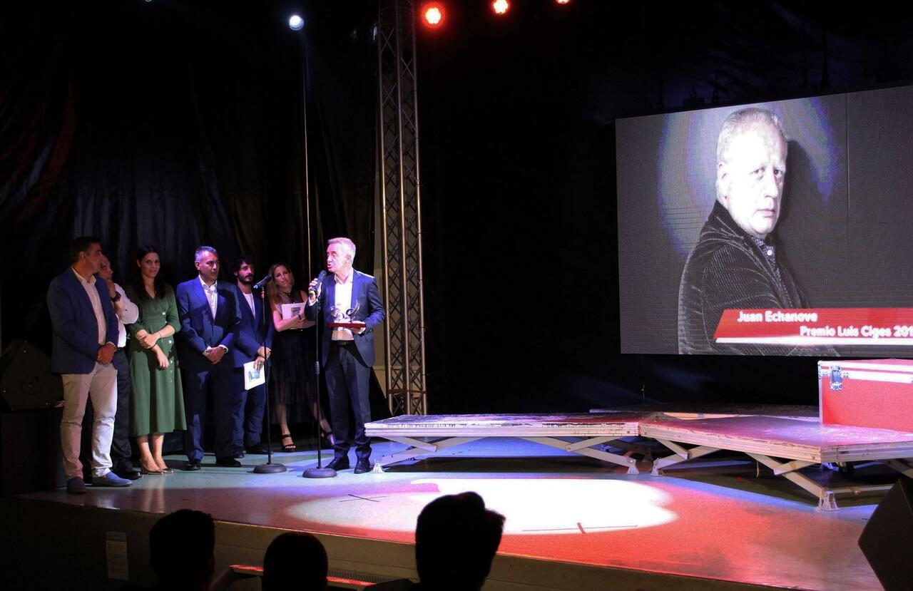 Islantilla Cineforum pone fin a su XII edición con un homenaje a Juan Echanove