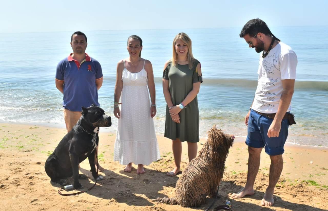 El Ayuntamiento de Lepe inaugura la Playa Canina de Santa Pura