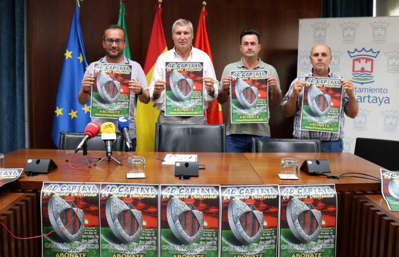 Arranca la campaña de abonados del Cartaya para la próxima temporada
