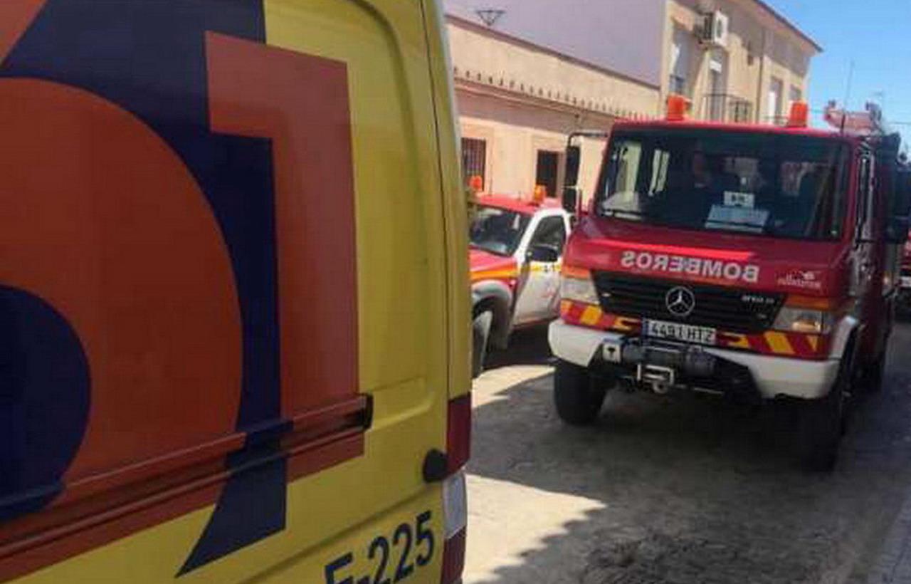 Evacuada en Lepe una niña de 12 años tras incendiarse la cocina de su vivienda