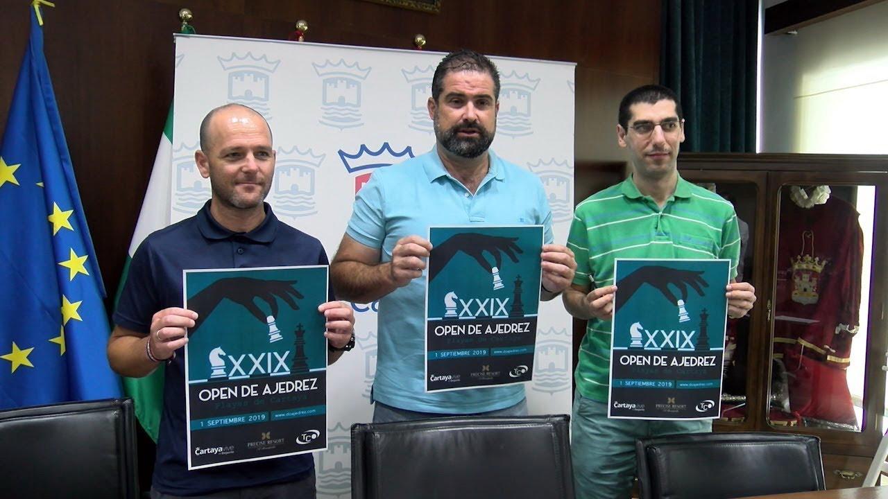 Presentada una nueva edición del Open de Ajedrez Playas de Cartaya