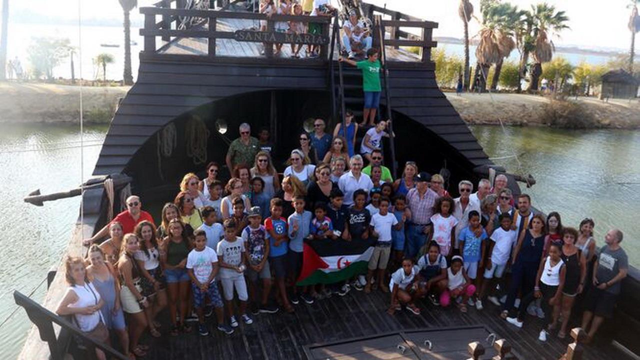Despedida de los niños saharauis en Huelva