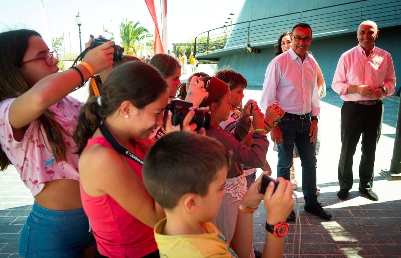 Más de 4,3 millones de personas han visitado el Muelle de las Carabelas desde su apertura hace 25 años